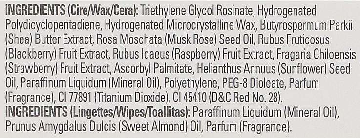 Paski z zimnym woskiem do depilacji twarzy i delikatnych stref - Byphasse Cold Wax Strips Face & Delicate Areas For Sensitive Skin — фото N6