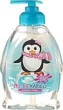 Kup Żel pod prysznic i do kąpieli o zapachu cukrowej pianki dla dzieci Wesoły pingwin - Chlapu Chlap Bath & Shower Gel