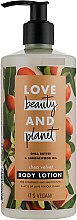 Kup Balsam do ciała Masło shea i olej z drzewa sandałowego - Love Beauty & Planet Shea Butter & Sandalwood Oil Body Lotion