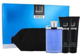 Kup Alfred Dunhill Desire Blue - Zestaw (edt/100ml + a/sh/90ml + sh/g/90ml + bag)