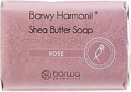 Kup Mydło różane w kostce Masło shea - Barwa Barwy Harmonii Rose Shea Butter Soap