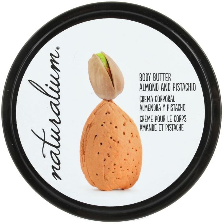 Odżywcze masło do ciała - Naturalium Body Butter Almond And Pistachio — фото N1