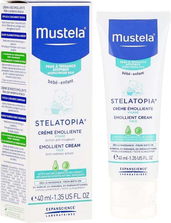 Emolientowy krem do twarzy - Mustela Bebe Emollient Cream