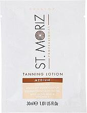 Kup Balsam brązujący do ciała - St.Moriz Self Tanning Lotion Medium (próbka)