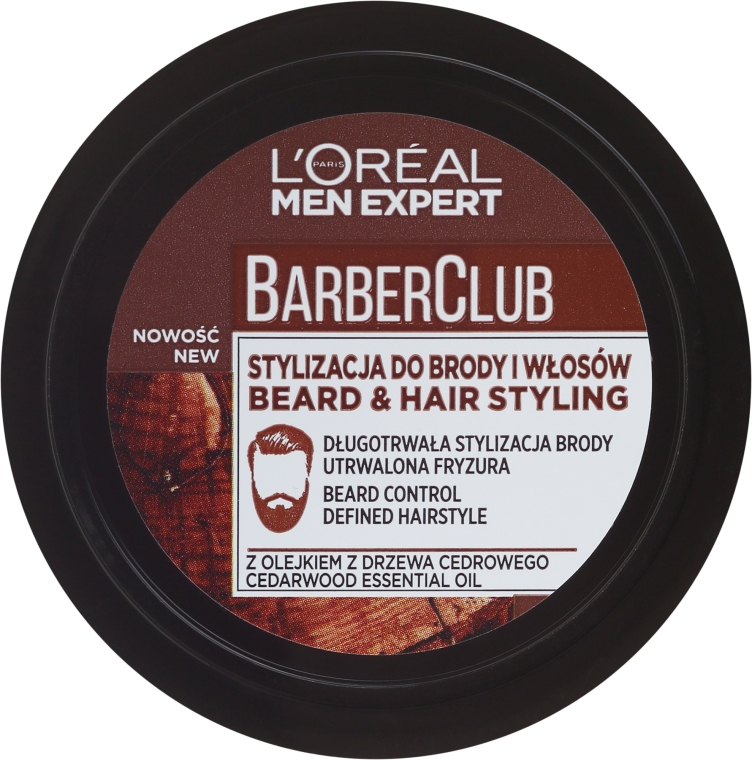 Krem do stylizacji zarostu - L'Oreal Paris Men Expert Barber Club