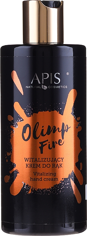Witalizujący krem do rąk - Apis Professional Olimp Fire Hand Cream