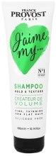 Kup Teksturyzujący szampon dodający objętości włosom cienkimi i oklapniętym - Franck Provost Paris Jaime My Hair Shampoo