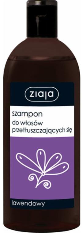 Lawendowy szampon do włosów przetłuszczających się - Ziaja
