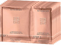 Kup Zestaw dwuetapowych masek do twarzy - Givenchy L'Intemporel Multi-Masking Kit (6 x mask 14 ml)