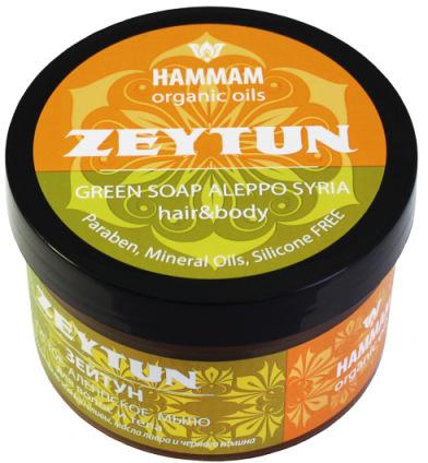 Gęste mydło do włosów i ciała Zeytun - Hammam Organic Oils — фото N1