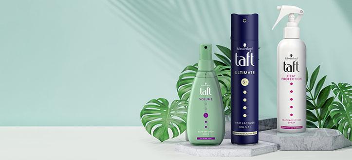 Zniżka 20% na wybrane produkty Taft. Сeny uwzględniają zniżkę