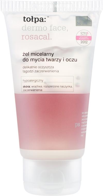 Żel micelarny do mycia twarzy i oczu - Tołpa Dermo Face Rosacal