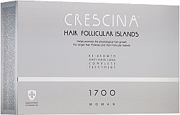 Kup Kuracja dla kobiet stymulująca wzrost włosów i zapobiegająca ich wypadaniu - Crescina Hair Follicular Island Re-Growth+Anti-Hair Loss 1700 Woman