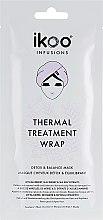 Kup Maska turban na włosy Detox i równowaga - Ikoo Infusions Thermal Treatment Wrap