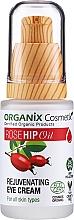 Kup Odmładzający krem pod oczy z olejem z dzikiej róży - Organix Cosmetix Rose Hip Oil Rejuvenating Eye Cream