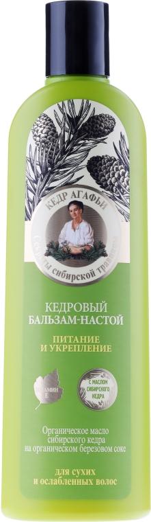 Cedrowy balsam-napar Odżywienie i wzmocnienie - Receptury Babci Agafii