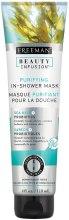 Kup Oczyszczająca maska do twarzy pod prysznic - Freeman Feeling Beautiful Purifying In-Shower Mask Sea Kelp + Probiotics