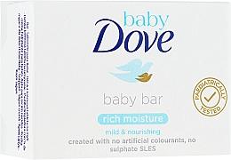Kup Silnie nawilżające mydło w kostce dla dzieci - Dove Baby Rich Moisture Baby Bar