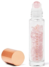 Kup Buteleczka z kryształkami różowego kwarcu na olejek eteryczny (roll-on) - Crystallove