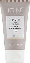Kup Żel do stylizacji włosów - Keune Style Ultra Gel Travel Size