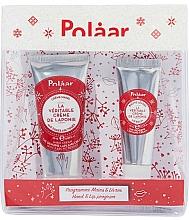 Kup Zestaw - Polaar Set (mini/hand/cream/25ml + lip/balm/10ml)