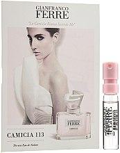 Kup Gianfranco Ferre Camicia 113 - Woda toaletowa (próbka)