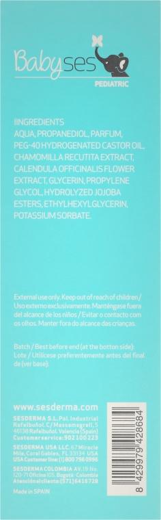 Woda kolońska dla dzieci - Sesderma Laboratories Babyses — фото N3