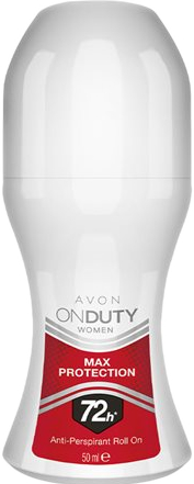 Antyperspirant w kulce - Avon On Duty Max Protection Rol On 72H — фото N1