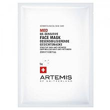 Kup Przeciwstarzeniowa maseczka do twarzy - Artemis of Switzerland Med De-Sensitise Face Mask