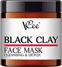 Kup Oczyszczająca maska detoksykująca z czarną glinką do twarzy - VCee Black Clay Face Mask Cleansing&Detox