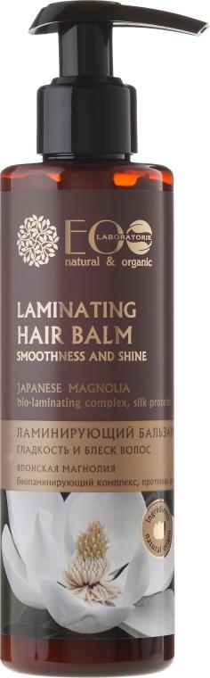 Laminujący balsam do włosów Japońska magnolia - ECO Laboratorie Laminating Hair Balm Japanese Magnolia