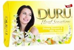 Kup Mydło kosmetyczne Kwiat pomarańczy i proteiny mleczne - Duru Floral Sensations Soap