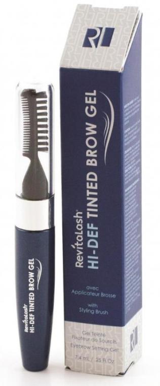 Modelujący żel do brwi - Revitalash Hi-Def Tinted Brow Gel — фото N1