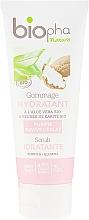 Kup Nawilżający peeling do twarzy z masłem shea - Biopha Nature Scrub Idratante