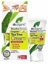 Kup Kojący krem do ciała z drzewa herbacianego - Dr. Organic Bioactive Skincare Tea Tree Cream