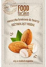 Kup Kremowa maseczka do twarzy Migdał - Marion Food for Skin Cream Mask Nourishing Almond
