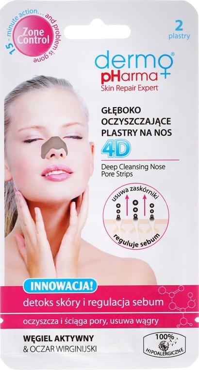 Oczyszczające plastry na nos - Dermo Pharma Patch