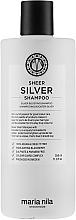 Kup Srebrny szampon do włosów blond neutralizujący żółte refleksy - Maria Nila Sheer Silver Shampoo