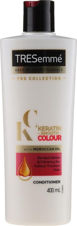 Odżywka do włosów farbowanych z keratyną - Tresemme Keratin Smooth Colour Conditioner With Maroccan Oil
