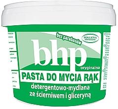 Kup PRZECENA! Detergenowo-mydlana pasta do mycia rąk ze ścierniwem i gliceryną - BHP Handwashing Paste *