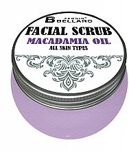 Kup Peeling do twarzy z olejem makadamia - Fergio Bellaro Facial Scrub