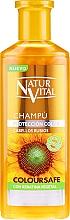 Kup Szampon utrwalający kolor włosów farbowanych - Natur Vital Coloursafe Henna Colour Shampoo Blonde Hair