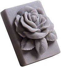 Kup Naturalne mydło ręcznie robione o zapachu ananasowym Róża w prostokącie - LaQ Happy Soaps Pink Rose