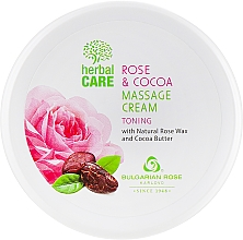 Kup Tonizujący krem do masażu - Bulgarian Rose Herbal Care Rose & Cococa Massage Cream