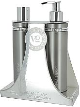 Kup PRZECENA! Zestaw - Vivian Gray Grey Crystal (sh/gel/250ml + b/lot/250ml) *