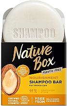 Kup Odżywczy szampon do włosów na bazie oleju arganowego - Nature Box Nourishment Vegan Shampoo Bar With Cold Pressed Argan Oil