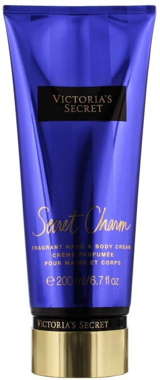 Perfumowany krem do rąk i ciała - Victoria's Secret Secret Charm Fragrant Hand & Body Cream  — фото N1