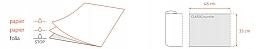Jednorazowe serwety stomatologiczne - Dentix Pro Classic White  — фото N4