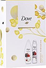 Kup Zestaw - Dove Relaxing Care Gift Set (sh/gel/250ml+deo/spray150ml)