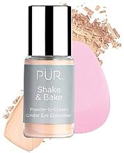 Kup Korektor - Pur Shake & Bake Powder-to-Cream Under Eye Concealer